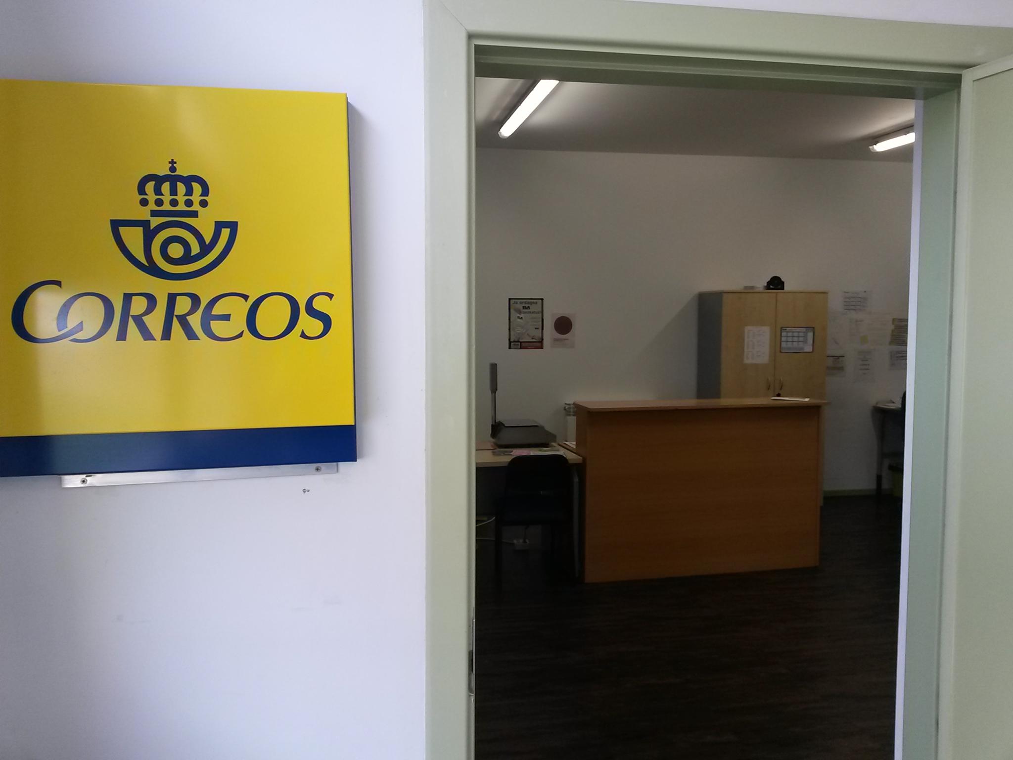 Oficina de correos irura for Oficina de correos tarragona